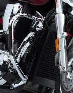 """US 1-1//4/"""" Highway Foot Peg Crash Bar For Honda VTX 1300 1800 Valkyrie Rune 1500"""