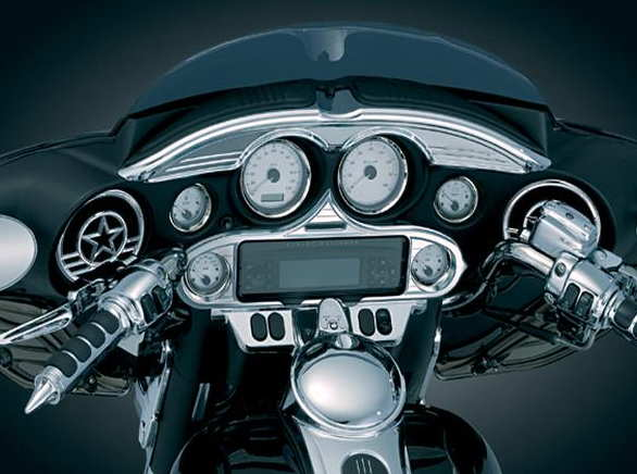 Switch Panel Accent, Harley Electra Glide, Street Glide & Trike 96-13