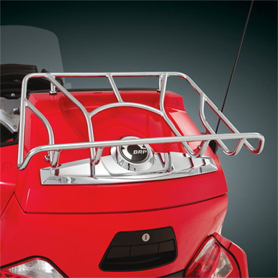 Can Am Spyder Rt Luggage Rack Chrome Or Satin Black