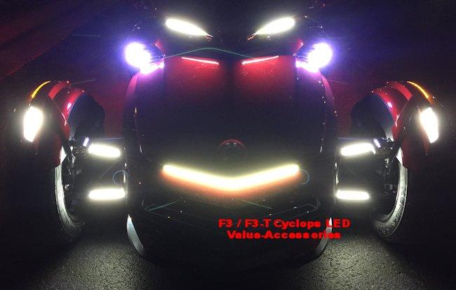 Cyclops Led Can Am Spyder F3 F3t