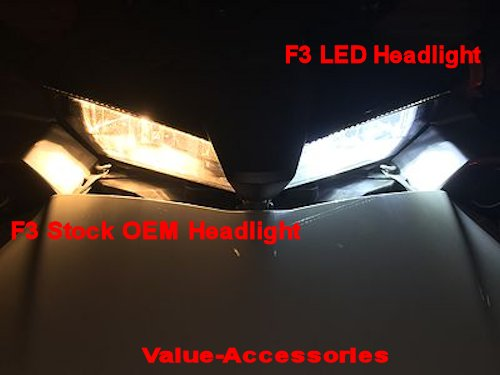 Led Headlights Or Foglight Bulbs Can Am Spyder F3 Pr