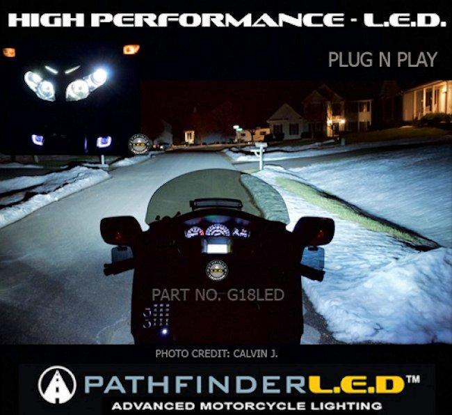 Pathfinder Led Headlight Kits Gl1800 F6b Pr