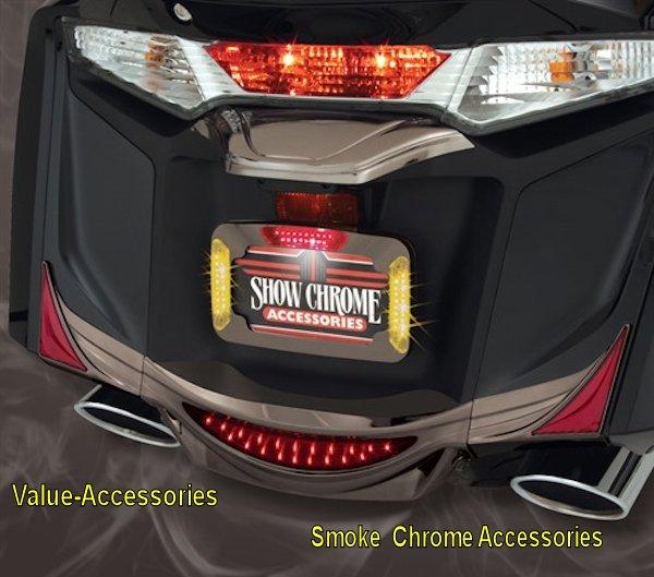 License Plate Cover Trim Honda Gl1800 Gold Wing 12 17