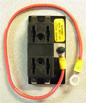 563283 accessory fuse block, 4 or 6 position w cable & connectors
