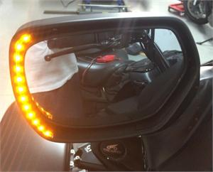 Mirror Led Turn Signals Gl1800 Gold Wing 01 17 Amp F6b Pr