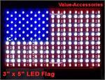 LED American Flag, (3x5)