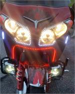 White Or Amber Led Light Rings Gl1800 Gold Wing 12 F6b