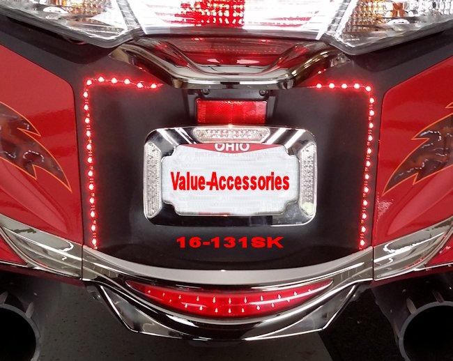 Custom Motorcycle License Plate