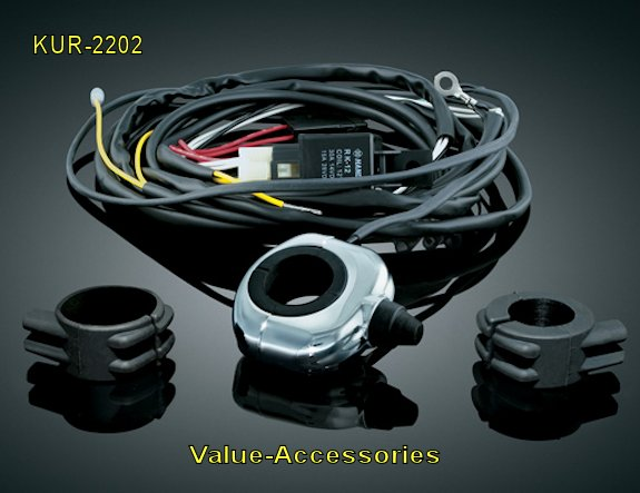 22021 universal wiring and relay kit for controlling motorcycle Wiring Kits for Lights at gsmportal.co