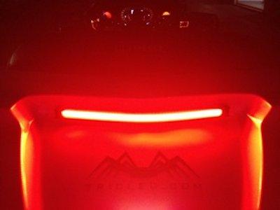 Top center rear led light bar can am spyder rt aloadofball Images