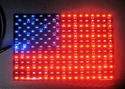 LED American Flag, Can-AM Spyder RT / F3 / RS / Generic (4x6)