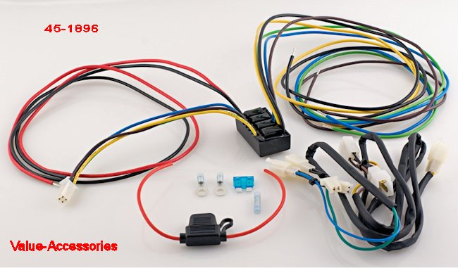 trailer wiring harness, gl1800  value-accessories
