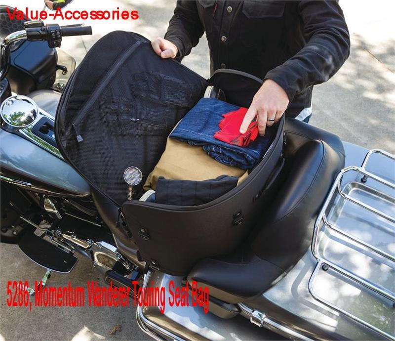 NEW Kuryakyn Momentum Wanderer Touring Seat Motorcycle Bag Luggage