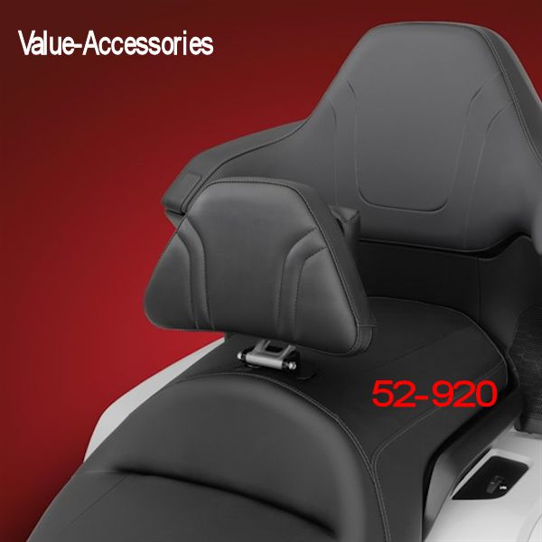 Honda Genuine Accessories Passenger Backrest Pad