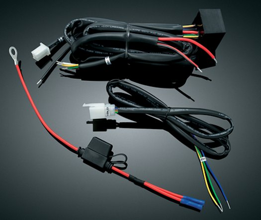 trailer wiring harness, available for multiple bikes  value-accessories