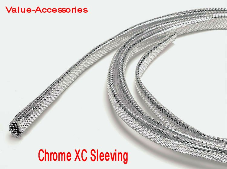Chrome Cable Covers & XC Sleeving, .2\