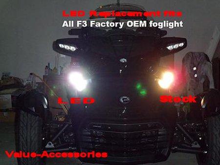 Led Headlights Or Foglight Bulbs Can Am Spyder F3 Pr