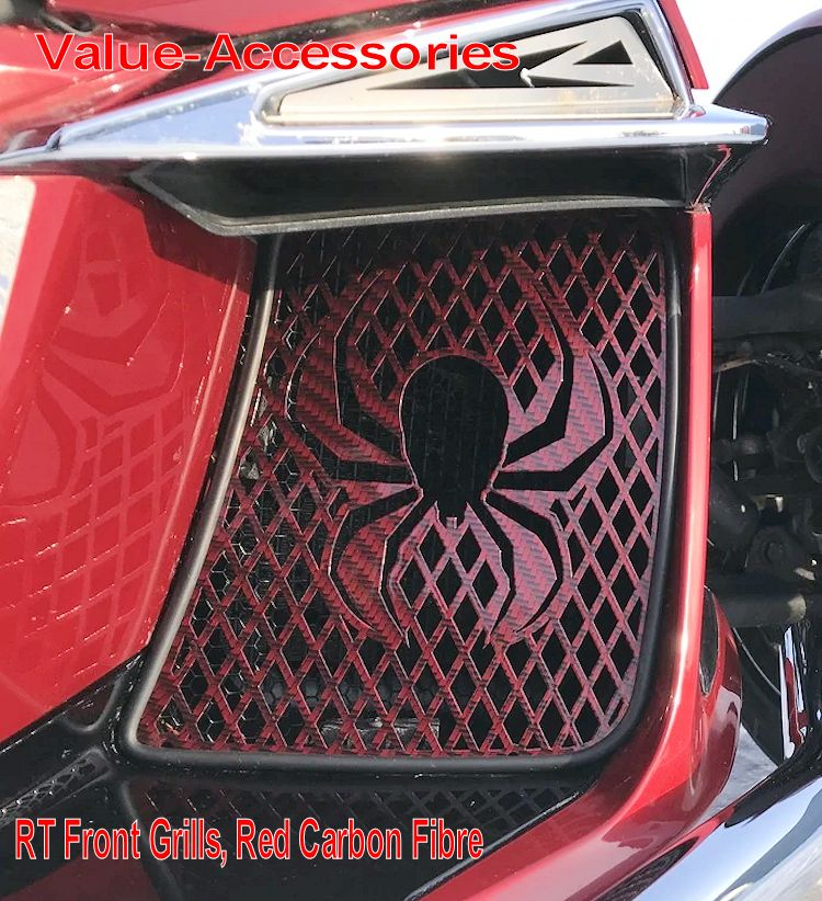 Fits Compatible with Can Am Spyder RT F3 Spider Sticker Decal For Front