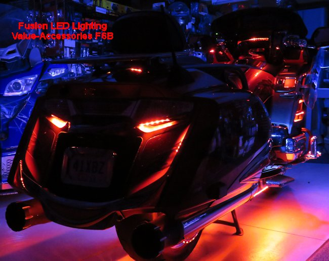 Fusion 21 Color Led Lighting Gold Wing Kits