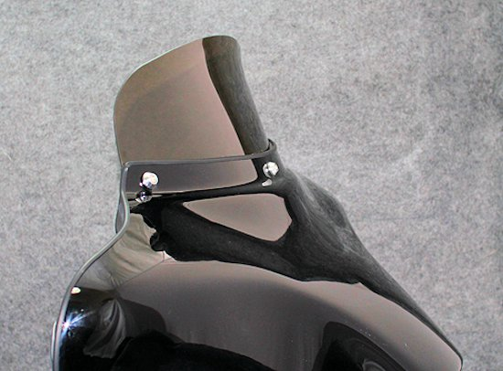Curved Fairing Shields, Tsukayu or Harley FLH 96-13 or