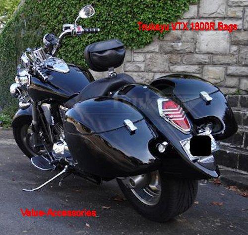 Yamaha V Star Saddlebags Hard