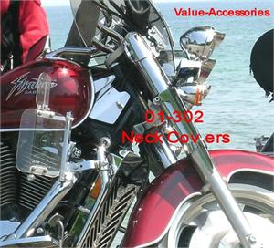 10mm Motorcycle Chrome Rearview Mirror For Honda Shadow Spirit ACE Aero VT Sabre